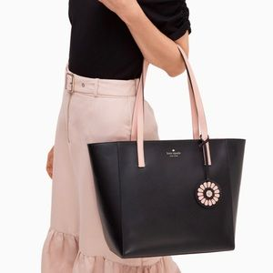 Authentic Kate Spade leather 2 tone  Zip Tote❤️